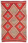 A Navajo transitional rug, 7ft 4in x 4ft 8in