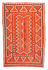 A Navajo transitional rug, 6ft 4in x 4ft 1in