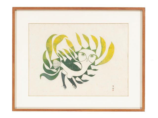 An Eskimo print, Kenojuak Ashevak