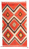 A Navajo transitional rug, 8ft 2in x 4ft 6in