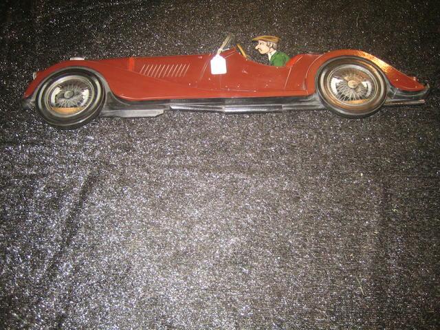 Morgan Sports Car, 12 x 48in