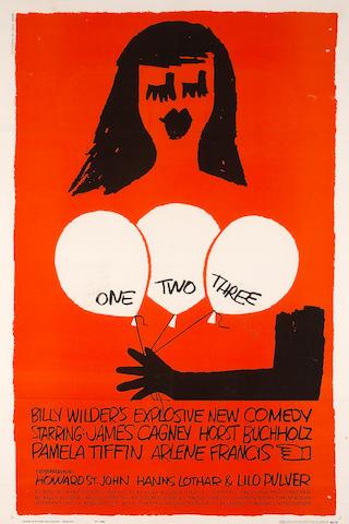 One Two Three, 1962, 42x29, LB