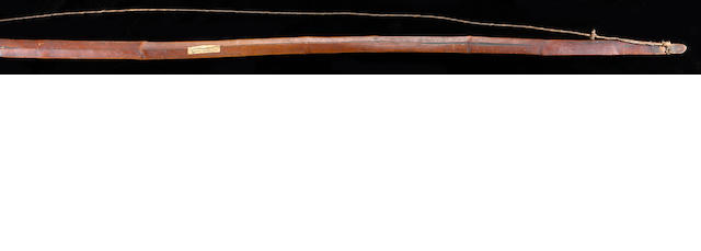 An early California bow