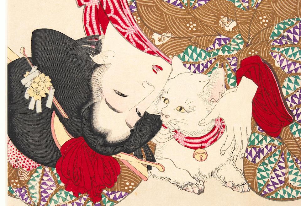 Tsukioka Yoshitoshi (1839-1892): Fuzoku sanjuniso (Thirty-two Aspects of Daily Life)