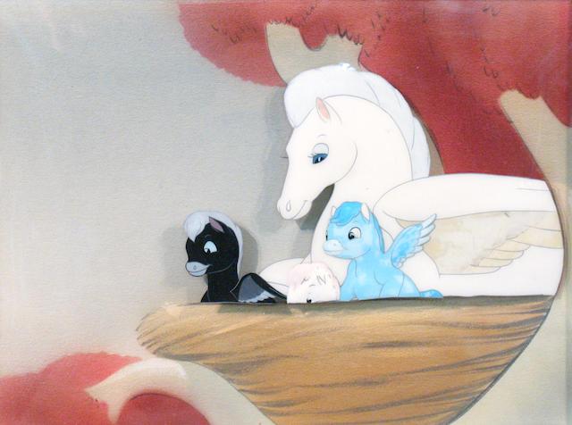 "A Walt Disney celluloid from ""Fantasia"""