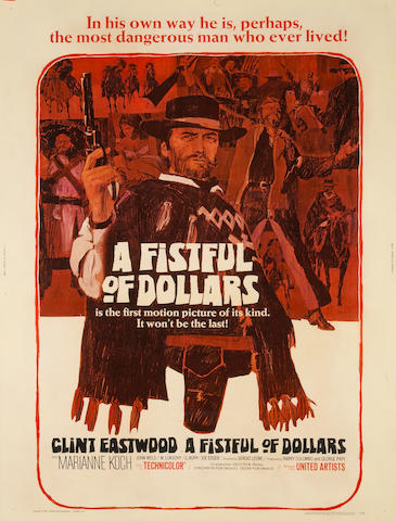 A group of ten Clint Eastwood one-sheet posters