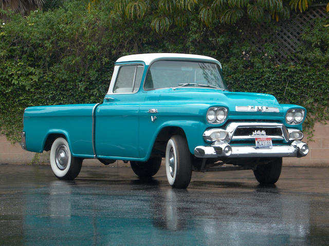 1958 GMC Pickup Truck  Chassis no. 1018CS1318A