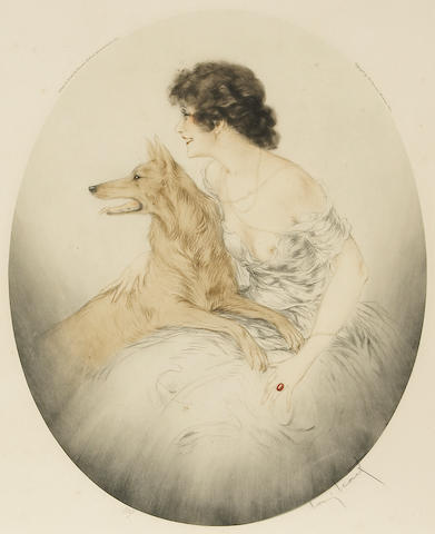 Louis Icart; Best Friends;