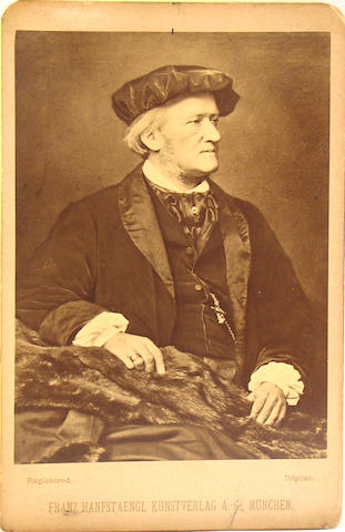 [WAGNER, RICHARD. 1813-1883.]