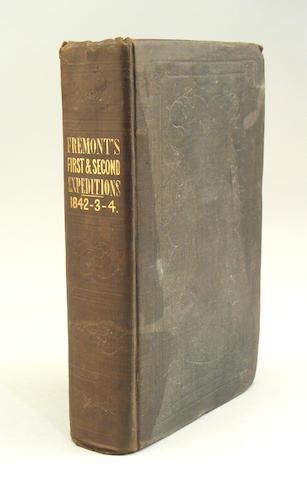 FRÉMONT, JOHN CHARLES. 1813-1890.