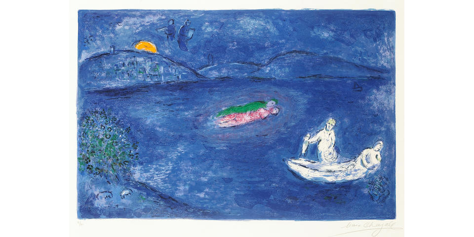 Marc Chagall; Echo, from Daphnis and Chloé;