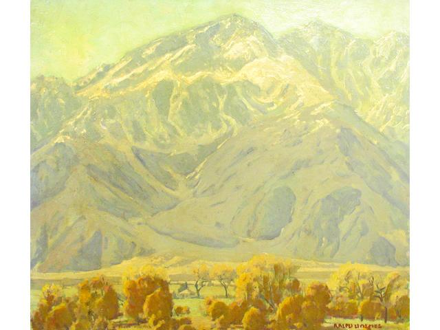 Ralph William Holmes (American 1876-1963) Near Palm Springs 24 x 28in (unframed)