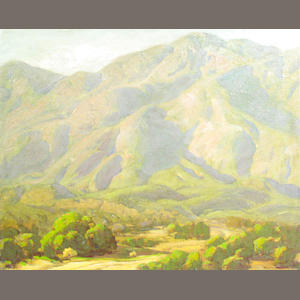 Ralph William Holmes (American 1876-1963) Desert Wash 24 x 28in (unframed)