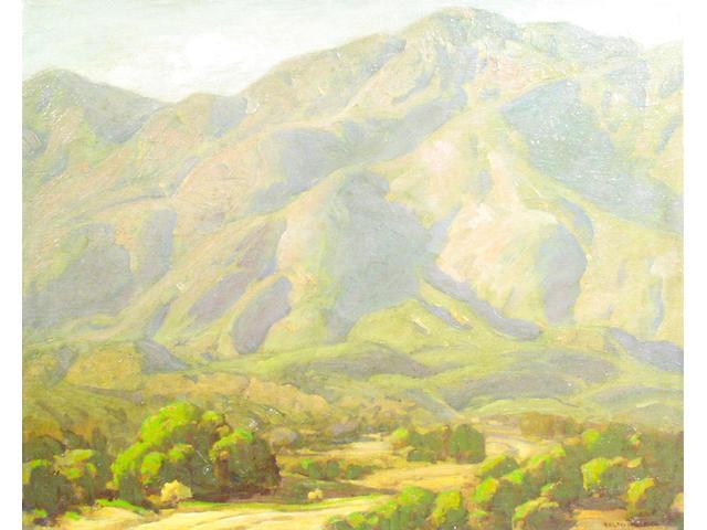Ralph William Holmes (American 1876-1963) Desert Wash 24 x 28in (unframed)
