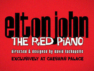 Elton John The Red Piano VIP tickets Donated by Elton John AIDS Foundation and Spago