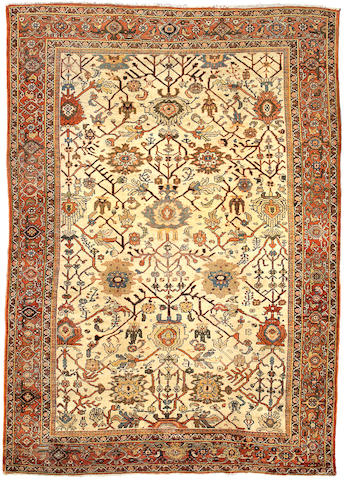 A Sultanabad carpet Central Persia size approximately 12ft 9in x 9ft