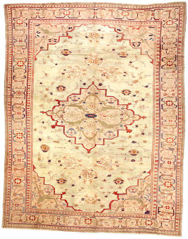 A Sultanabad carpet Central Persia size approximately 11ft 9in x 15ft 3in
