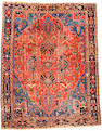 A Serapi Carpet Size approximately 12ft 9in x 15ft 6in