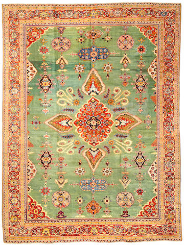 A Sultanabad carpet Central Persia size approximately 11ft 9in x 8ft 7in