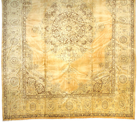 A Tabriz carpet Northwest Persia size approximately 15ft 6in x 22ft 6in