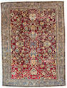 An Afghan Rug Size approximately 9ft 4in x 4ft 2in