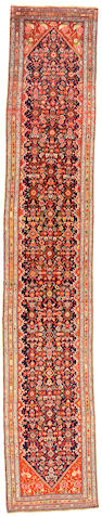 A Senneh Runner Central Persia size approximately 3ft x 17ft