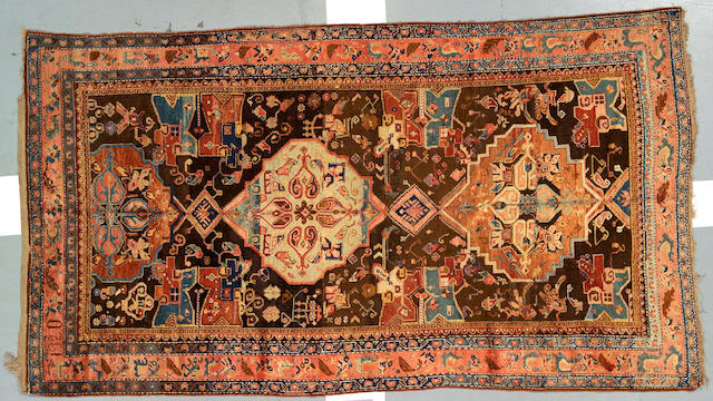 A Karabagh carpet Caucasian size approximately 5ft 9in x 10ft 3in
