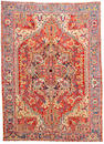 A Heriz carpet Northwest Persia size approximately 9ft 3in x 12ft 9in