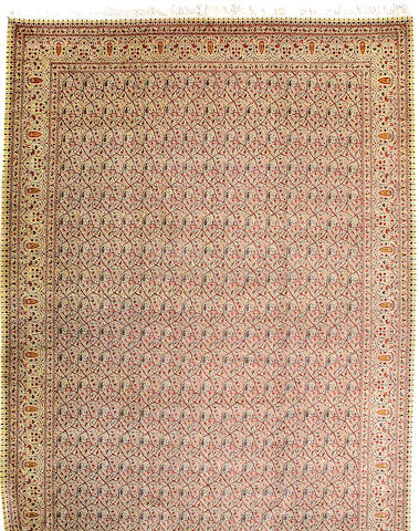 A Tabriz carpet Northwest Persia size approximately 14ft 8in x 25ft 5in