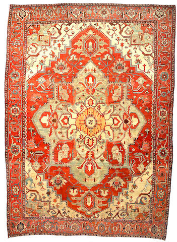A Serapi carpet Northwest Persia size approximately 13ft x 18ft