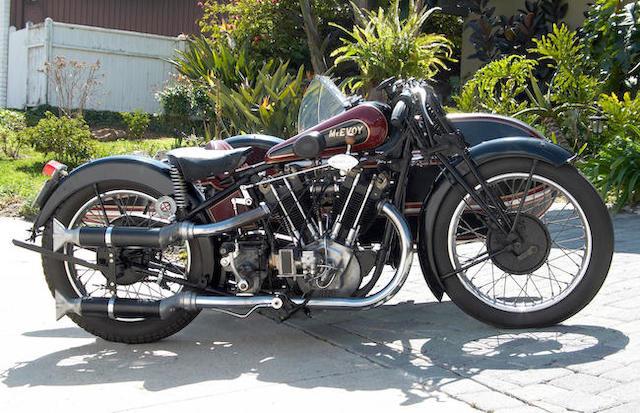 1927 McEvoy KTOR 980cc 8/45hp ohv JAP