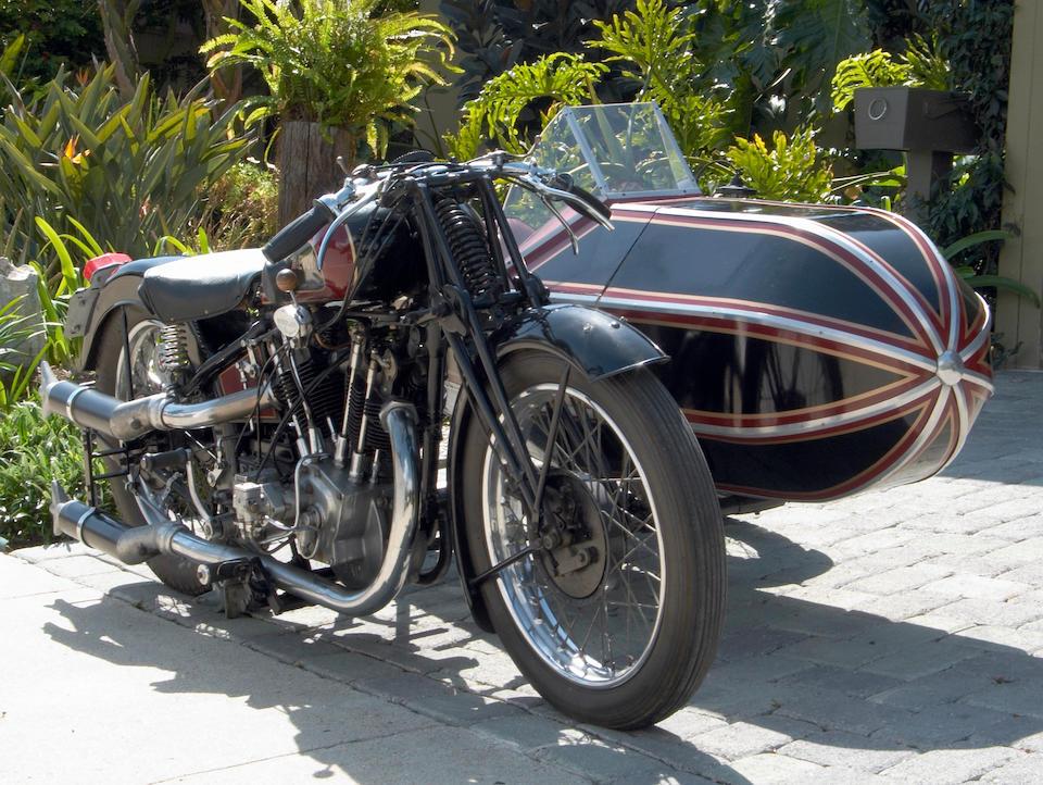 The ex-Michael McEvoy, John Stears,c.1927 McEvoy-JAP 8/45hp Frame no. CY927 Engine no. 73025/SD