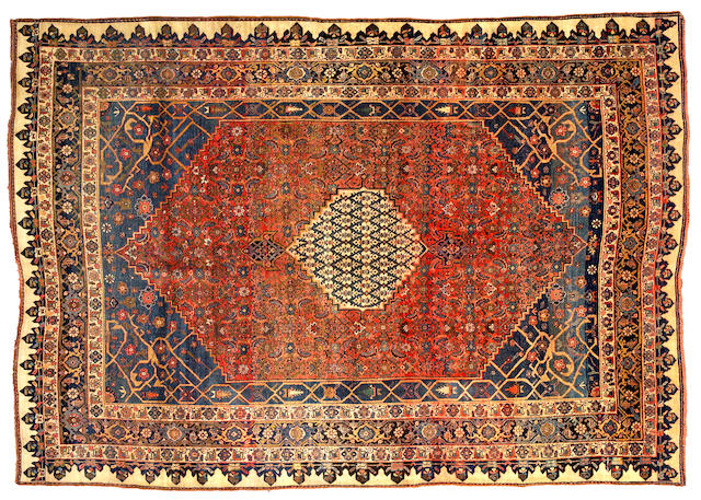 A Bidjar carpet Northwest Persia size approximately 7ft 8in x 10ft 10in
