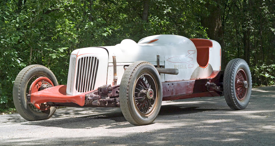 The ex-Herb Ardinger,1932 'Lucenti Special' Two-Man Indianapolis Race Car