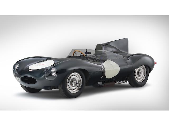 The Ex-Jack Ensley/Pat O'Connor Sebring 12-Hours,1956 3.8-liter Jaguar D-Type Sports-Racing Two-Seat