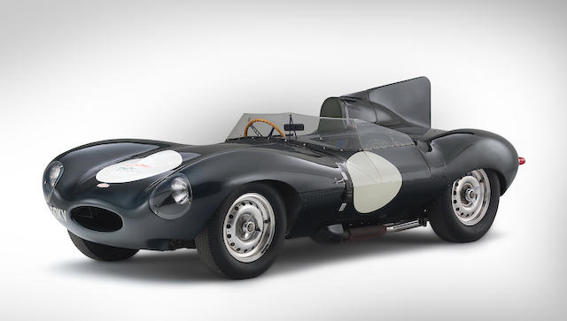 The Ex-Jack Ensley/Pat O'Connor Sebring 12-Hours 'number 8',1956 Jaguar D-Type 'Shortnose' Sports-Racing Two-Seater  Chassis no. XKD553 Engine no. E2046-9