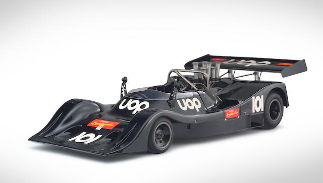 The ultimate American CanAm works team contender,1974 AVS Shadow-Chevrolet DN4 CanAm Sports-Racing Spider  Chassis no. DN4-2A