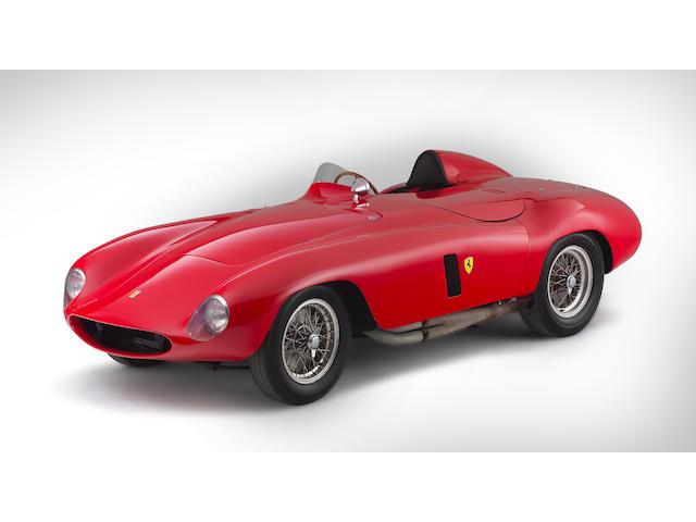 The Brussels Salon ex-John von Neumann/Phil Hill/'On the Beach',1955 Ferrari 750 Monza Spyder two-se