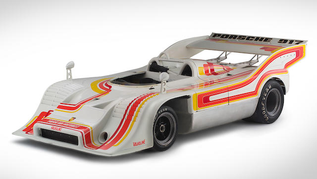 The Ex-Will Kauhsen/Monte Shelton Nürburgring, Imola and Silverstone-winning,1972-73 twin-turbocharged Porsche 917/10 CanAm & Interserie Racing Spyder  Chassis no. 917/10-015