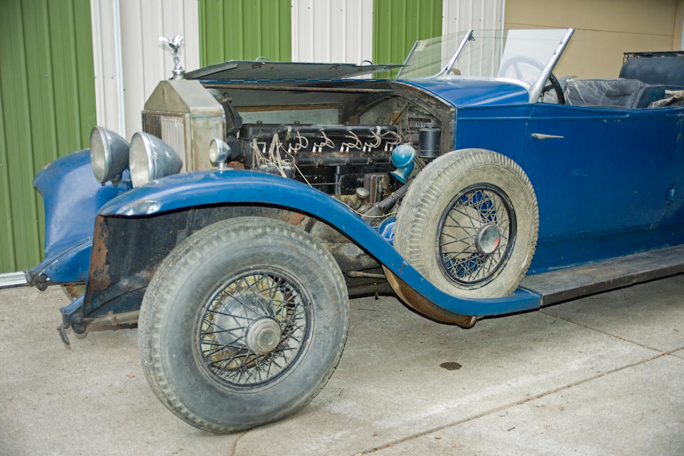 1929 Rolls-Royce Springfield Phantom I Henley Convertible Coupé  Chassis no. S182PM