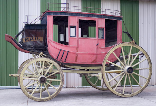 1865 Abbot Downing Stage Coach