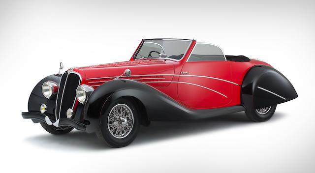 Circa 1947 Delahaye 135 MS Cabriolet  Chassis no. 800484