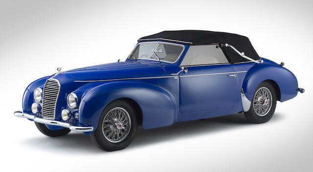 1949 Talbot-Lago T26 'Record' Drophead Coupe  Chassis no. 101003 Engine no. 26458