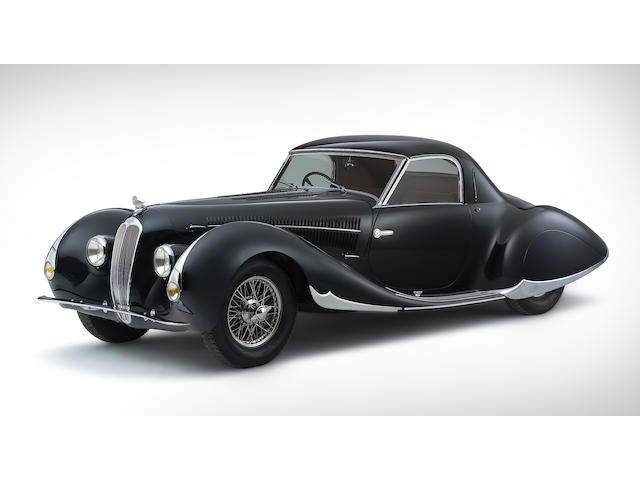 The 1938 Paris Salon,1938 Delahaye 135 MS Coupé  Chassis no. 60112