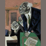 William Gropper (1897-1977) Senate Speech  25 3/4 x 19 3/4in
