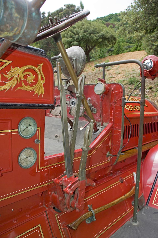 1917 Seagrave Fire Pumper  Chassis no. F1227