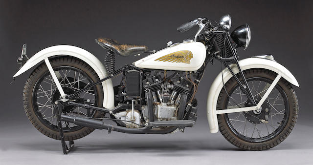 c.1934 Indian Sport Scout Engine no. 0279