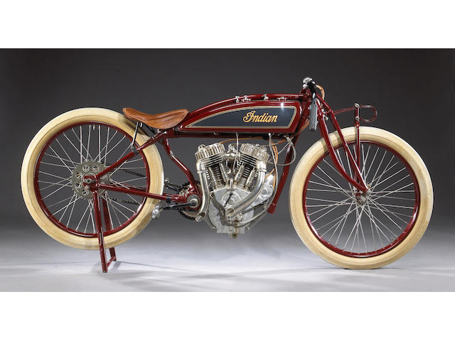 1920 Indian Powerplus Racing Motorcycle with 'Daytona' low-seat frame