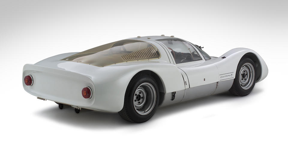 1966 Porsche 'Carrera 6' Typ 906 Endurance Racing 'Gullwing' Coupé  Chassis no. 906-147