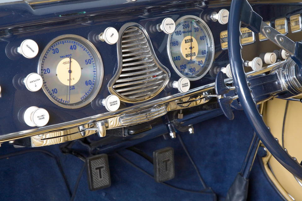 1949 Talbot-Lago T26 Grand Sport Four-Seat Cabriolet  Chassis no. 100047